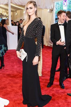 Cara Delevingne wears our LeiVanKash Dagger Necklace to the Met Ball £190 http://www.myflashtrash.com/dagger-necklace.html#.UYqbyytARZ_