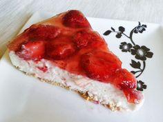 fitness desserts: McDonald style jahodový fitness cheesecake, oplatí sa vyskúšať!