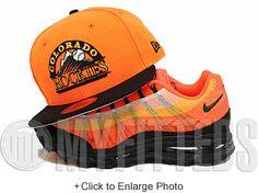 Colorado Rockies Bright Orangeade Jet Black White Gunmetal New Era Fitted Hat Strapback Cap, New Era Fitted, New Era Hats, Colorado Rockies, Fitted Caps, Snap Backs, Modern Man, Dad Hats, Jet