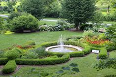 Allen Family Butterfly Garden And Fountain, Lindley Park Greensboro, NC