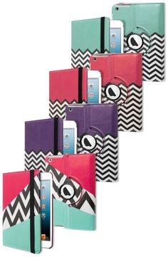 Check out these adorable chevron iPad Mini cases!