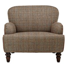 Buy Tetrad Harris Tweed for John Lewis Lewis Armchair, Bracken / Tan Online at johnlewis.com