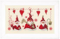 Cheerful Santas