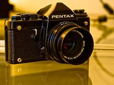 Pentax LX with the FAs 31/1.8, 49/1.9, 77/1.8 and the A 50/1.2