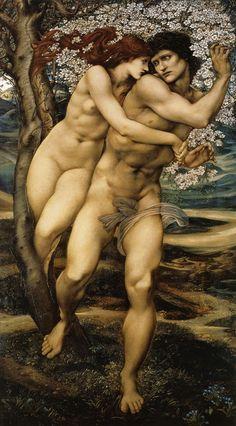 Edward Burne-Jones, The Tree of Forgiveness, 1881-82