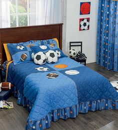 Blue Kids and Teens Bedding Sets Boys Bedspreads, Teen Bedding Sets, Baby Decor, Bed Covers, Bed Spreads, Baby Quilts, Bed Sheets, Kids Bedroom, Blanket