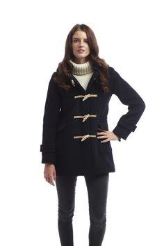 Womens Soho Elegance Duffle Navy