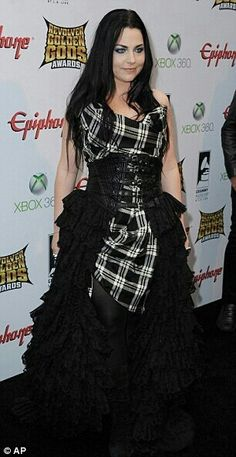 Amy Lee from Evanescence. This dress...!