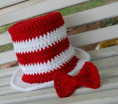 'Cat in the Hat'...and a good visual for a top hat for my snowman!.
