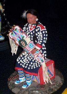 Art work by Artist Native Cheyenne River Sioux Tribe, Rhonda Holy Bear Lakota