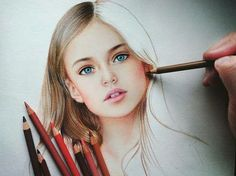 Colored pencil piece by marat_artColored pencil piece by tag and share if you love art!Discover The Secrets Of Drawing Realistic Pencil Portraits - Colored pencil piece byDrawing Pencil Portraits - I honestly successfully fast painted this one and it Portrait Au Crayon, Colored Pencil Portrait, Color Pencil Art, Colored Pencil Drawings, Realistic Drawings, Colorful Drawings, Art Sketches, Art Drawings, Drawing Faces