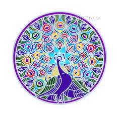 peacock mandala - Google Search