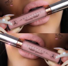Luv this Anastacia Beverly Hills pink gloss ♡
