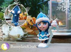 Winter Wonder Lulu inspired figure by BunnyLandCraft  ★ Follow me on FB: https://www.facebook.com/BunnylandCraft ★