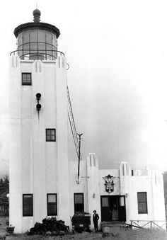 Cape Hinchinbrook Lighthouse, Alaska at Lighthousefriends.com (2nd one)