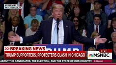 Rachel Maddow presents a video timeline of Donald Trump's comments at rallies that have stoked hostility and incited violence by his supporters against protesters, leading to chaos after a canceled rally in Chicago.