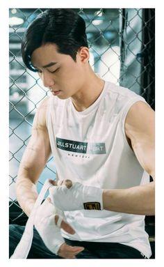 Take a kickboxing class Park Seo Joon Abs, Joon Park, Park Seo Jun, New Actors, Actors & Actresses, Asian Actors, Korean Actors, Joon Hyung, Oppa Gangnam Style