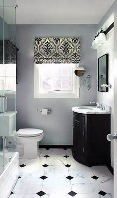 Classic bathroom style has been widely used for decades. There are a lot of families who like designing a classic bathroom – . Bathroom Colors, Black Bathroom, Bathroom Interior Design, Amazing Bathrooms, Bathroom Color, Classic Bathroom, Classic Bathroom Design, Bathroom Color Schemes, Modern Bathroom Design