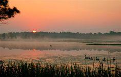 knapinski's cabins lake alice tomahawk wisconsin | Lake Alice misty morning - The Great Outdoors - Cabin Life - Cabin ...