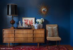 Swoon Worthy: Deep Blue Something: So I repainted my dining room...