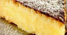 1 xícara (chá) de farinha de milho em flocos ou milharina  - 1 xícara (chá) de açúcar bem cheia  - 1 xícara (chá) de queijo prato picado  - 1 xícara (chá) de leite  - 3 ovos  - 1/2 xícara de óleo  - 2 colheres (sopa) de coco ralado  - 1 colher (sopa) de fermento em pó  - açúcar de confeiteiro  -