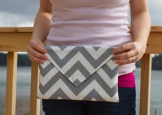 envelope clutch (pattern by noodlehead)