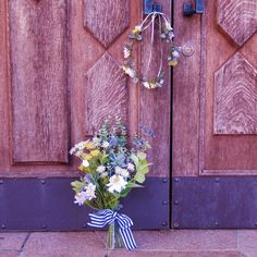 ナチュラルブーケ&花冠set♪  オーダーお問い合わせはwebsiteからお願いします。http://amarige.ciao.jp
