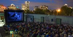 Portland - Join us atop the Hotel deLuxe's parking structure at SW 15th and Yamhill for our 12th annual program of cinema under the stars.