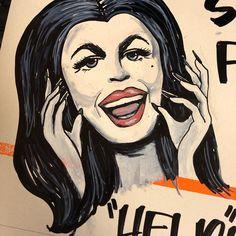 "Bobbi Johnson on Instagram: ""Vampira...Halloween mood even for air purifiers, ha ha. #signartist #signart #vampira #homedepotsign #homedepot #blissfullyrad…"" Air Purifier, Home Depot, Mood, Signs, Halloween, Artist, Beautiful, Instagram, Shop Signs"