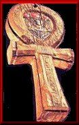 The Ankh is defined as: The symbolic representation of both Physical and Eternal life. It is known as the original cross, which is a powerful symbol that was first created by Africans in Ancient Egypt.