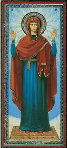 Икона Богоматерь «Нерушимая стена»
