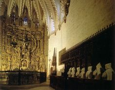Burgos. Santa María de Miraflores.