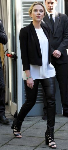 Scarlett Johansson Style | Get her look on today's blog