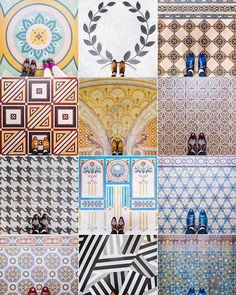 Inlove with this colorful gallery!! Color inspiration overload. Never a dull moment indeed!