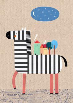 Teresa Bellon - Zebra