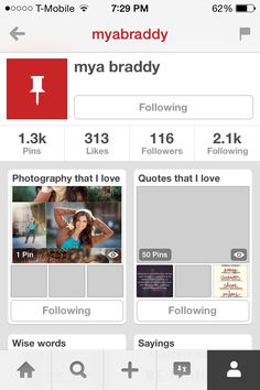 Follow Mya