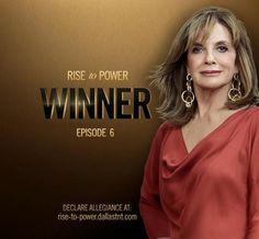 Sue Ellen rise to power Brenda Strong, Dallas Tnt, Josh Henderson, Larry Hagman, Linda Gray, Jesse Metcalfe, Sam Dean