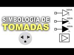 Simbologia de tomadas em diagramas elétricos - YouTube
