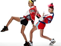 Melissa Bell and Katherine Webster by Tim Ashton in She Got Game for Fashion Gone Rogue