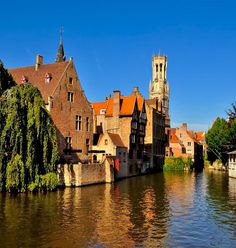 Romantic View of Bruges, Belgium | TOP 10 Most Romantic European Cities You Must Visit