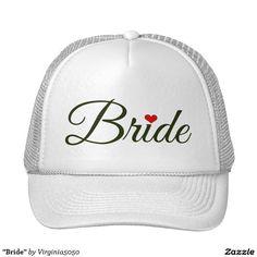 """""""Bride"""" Trucker Hat"""