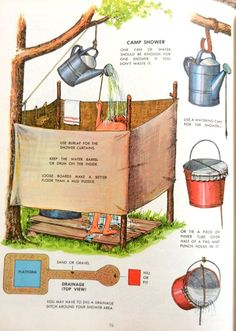 32 beautiful DIY outdoor shower ideas (for the best summer al . - 32 beautiful DIY outdoor shower ideas (for the best summer ever Outdoor Shower Kits, Outdoor Camping Shower, Outdoor Shower Enclosure, Diy Shower, Shower Ideas, Outdoor Showers, Camp Shower, Solar Shower, Outdoor Gear