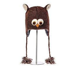 Ozzie the Owl Pilot Hat #May23Online $28.00 #owl