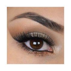 New Get This Look   Trio Natural Vegan Eyeshadow and Eyeliner Makeup... ($18) ❤ liked on Polyvore featuring beauty products, makeup, eye makeup, eyeshadow, bath & beauty, dark olive, glitter eye makeup, dark eye shadow, mineral eyeshadow and glitter eye shadow