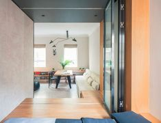 Living in a shoebox     This 50 sqm apartment feels much bigger than it is