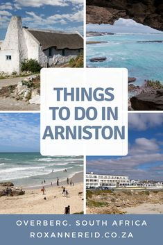 Planning a visit to the seaside village of Arniston in the Overberg? Find out things to do in Arniston, like whale-watching, fishing, exploring the Waenhuiskrans cave and sand dunes, snorkeling and surfing. Go to the beach, visit the heritage village of Kassiesbaai, see ancient fish traps and shell middens, visit De Mon Nature Reserve, De Hoop Nature Reserve and Bredasdorp's Shipwreck Museum. For your Arniston accommodation, stay at the Arniston Hotel. Shipwreck Museum, Slow Travel, Travel Tips, Ancient Fish, Seaside Village, Rock Pools, The Dunes, Fishing Villages, Whale Watching
