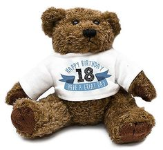 18th birthday #teddy bear gift idea #present special son boys cute #family #29,  View more on the LINK: 	http://www.zeppy.io/product/gb/2/221383279496/