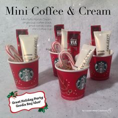 Mini Coffee & Cream $2 Contact me to get your today!!! Awelch8421@marykay.com Www.marykay.com/awelch8421 Call or text (409)656-8771