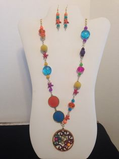 Summer Sizzler  Beautiful Bright Colors and by JewelryWorksbyCarol, $26.00
