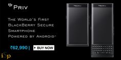 BlackBerry's First Android Smartphone PRIV available in India at Rs. 62,990 @ http://www.ispyprice.com/mobiles/5373-blackberry-priv-price-list-india/